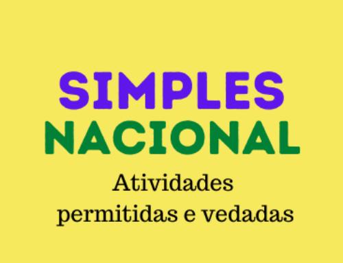 Atividades permitidas e vedadas no SIMPLES Nacional